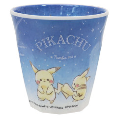 Japan Pokemon Acrylic Cup - Pikachu Star Night