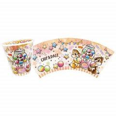 Japan Disney Acrylic Cup - Chip & Dale Sweets