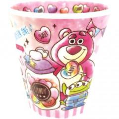 Japan Disney Acrylic Cup - Toy Story Lotso Bear & Candy