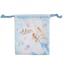 Japan Disney Drawstring Bag - Alice in the Wonderland