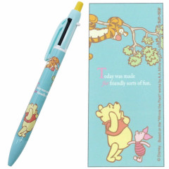 Japan Disney 2 Color Multi Pen & Mechanical Pencil - Pooh