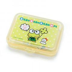 Japan Sanrio Sticker with Case - Kerokerokeroppi