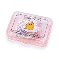 Japan Sanrio Sticker with Case - Gudetama