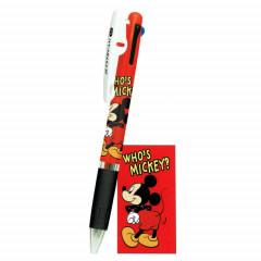 Japan Disney Jetstream 3 Color Multi Pen - Mickey Mouse