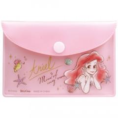 Japan Disney Store Little Mermaid Ariel Sticky Notes & Folder Set