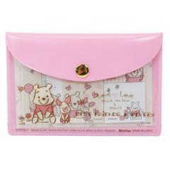Japan Disney Store Winnie the Pooh Sticky Notes & Folder Set