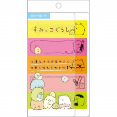 Japan Sumikko Gurashi Sticky Memo - Neon
