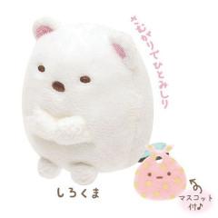 Japan Sumikko Gurashi Mini Plush (S) - White Bear