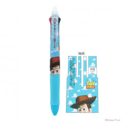 Japan Disney × Pilot FriXion Erasable 0.5mm 3-Color Multi Gel Pen - Toy Story 4 Woody