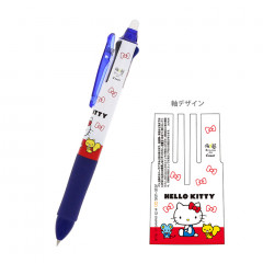 Japan Sanrio × Pilot FriXion Erasable 0.5mm 3-Color Multi Gel Pen - Hello Kitty