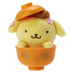 Japan Sanrio Mini Plush (S) - Pom Pom Purin & Sakura
