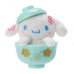 Japan Sanrio Mini Plush (S) - Cinnamoroll & Sakura