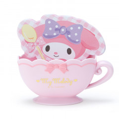 Japan Sanrio Memo Pad with Cup Case - My Melody