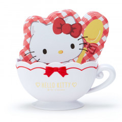 Japan Sanrio Memo Pad with Cup Case - Hello Kitty