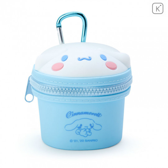 Japan Sanrio Mini Pouch with Hook - Cinnamoroll - 1