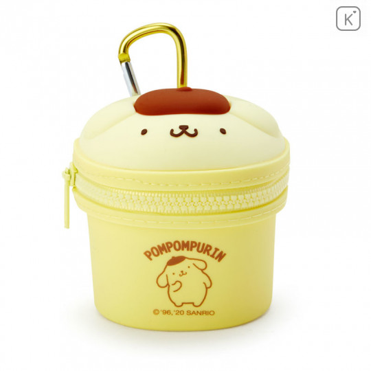 Japan Sanrio Mini Pouch with Hook - Pom Pom Purin - 1