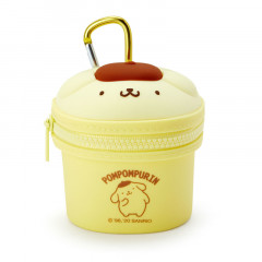 Japan Sanrio Mini Pouch with Hook - Pom Pom Purin