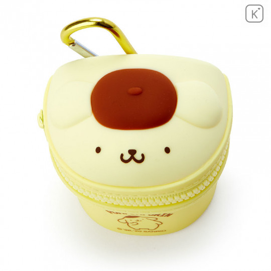 Japan Sanrio Mini Pouch with Hook - Pom Pom Purin - 2