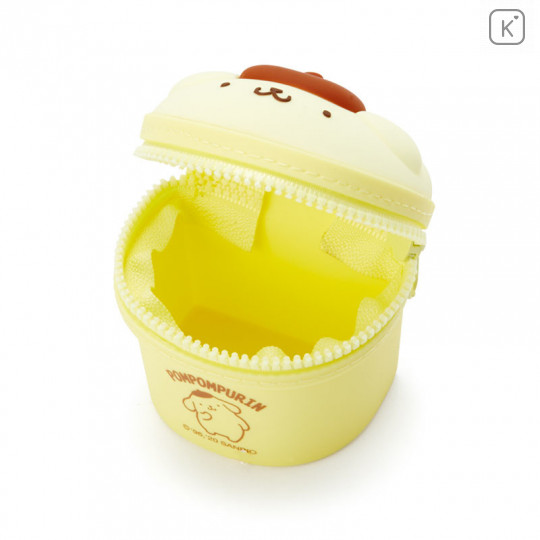 Japan Sanrio Mini Pouch with Hook - Pom Pom Purin - 3