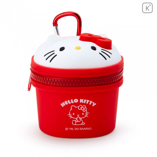Japan Sanrio Mini Pouch with Hook - Hello Kitty - 1