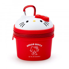 Japan Sanrio Mini Pouch with Hook - Hello Kitty