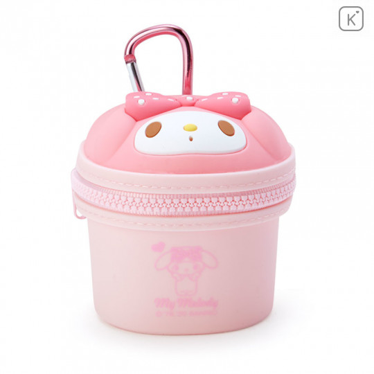 Japan Sanrio Mini Pouch with Hook - My Melody - 1
