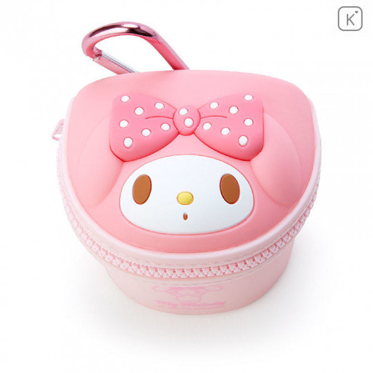Japan Sanrio Mini Pouch with Hook - My Melody - 2