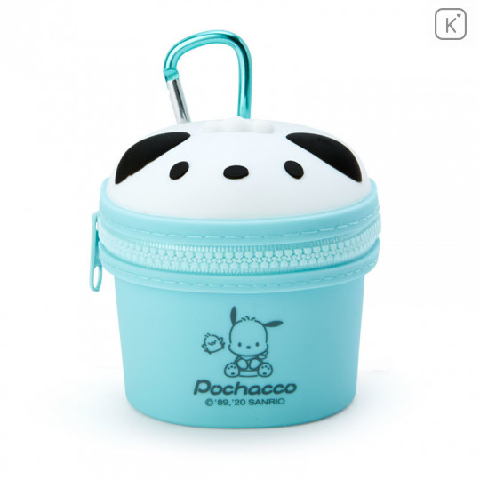 Japan Sanrio Mini Pouch with Hook - Pochacco - 1