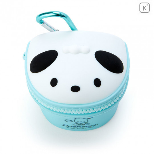 Japan Sanrio Mini Pouch with Hook - Pochacco - 2