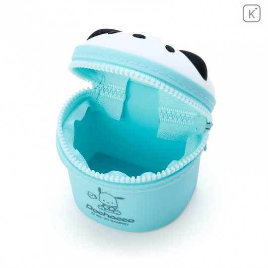 Japan Sanrio Mini Pouch with Hook - Pochacco - 3