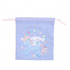 Japan Sanrio Drawstring Bag - Cinnamoroll & Unicorn