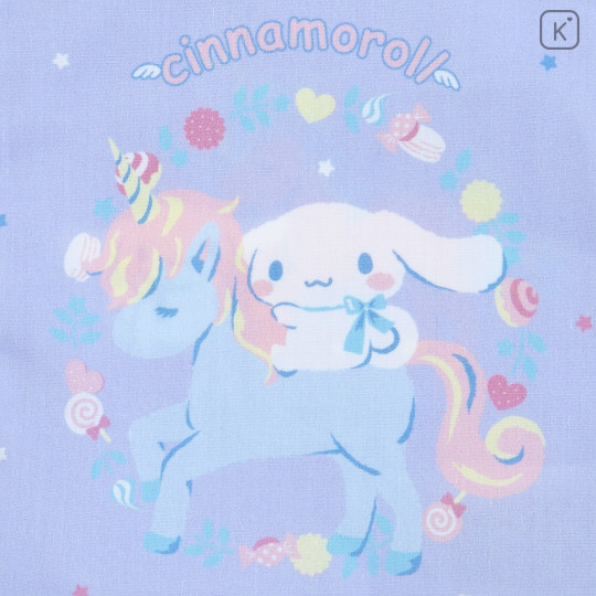 Japan Sanrio Drawstring Bag - Cinnamoroll & Unicorn - 2