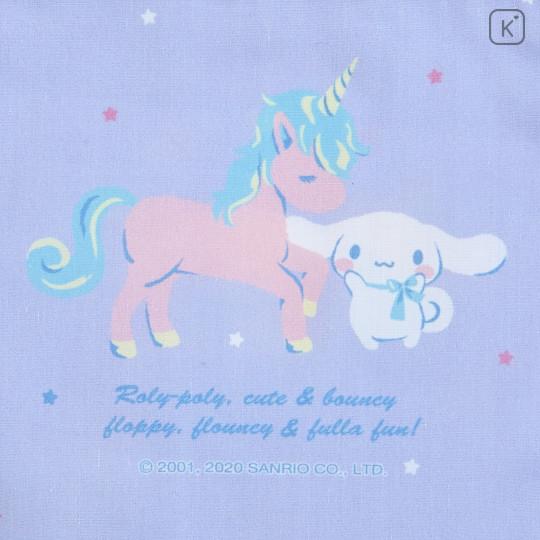 Japan Sanrio Drawstring Bag - Cinnamoroll & Unicorn - 4