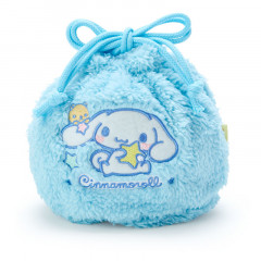 Japan Sanrio Drawstring Bag - Cinnamoroll Stuffed Blue
