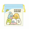 Japan Sumikko Gurashi Drawstring Bag - Book Club - 1