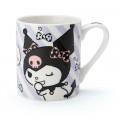 Japan Sanrio Pottery Mug - Kuromi - 1