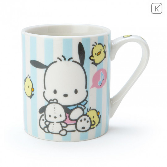 Japan Sanrio Pottery Mug - Pochacco - 1