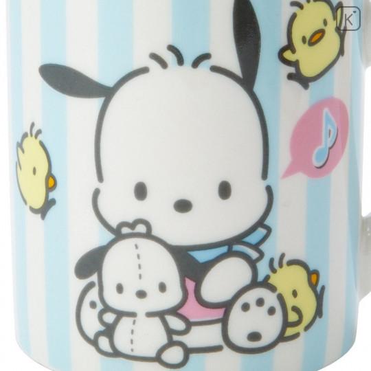 Japan Sanrio Pottery Mug - Pochacco - 5