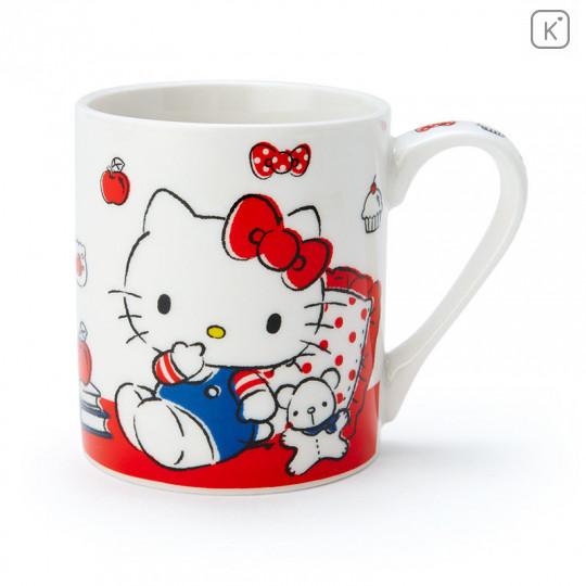 Japan Sanrio Pottery Mug - Hello Kitty - 1