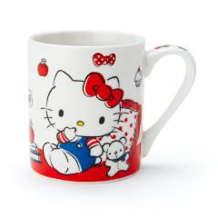 Japan Sanrio Pottery Mug - Hello Kitty