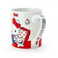 Japan Sanrio Pottery Mug - Hello Kitty - 3