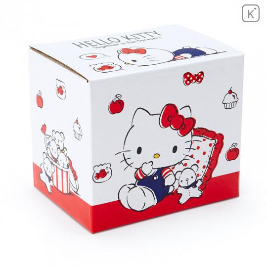 Japan Sanrio Pottery Mug - Hello Kitty - 4
