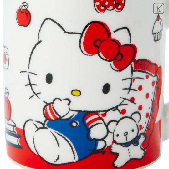 Japan Sanrio Pottery Mug - Hello Kitty - 5