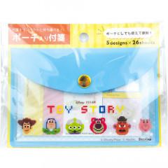 Japan Disney Toy Story Sticky Notes & Folder Set