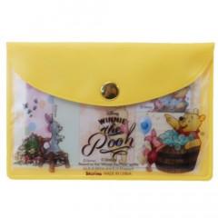 Japan Disney Winnie The Pooh Sticky Notes & Folder Set