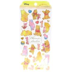 Japan Disney Sticker - Winnie The Pooh Watercolor