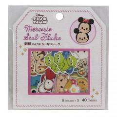 Japan Disney Masking Seal Flake Sticker - Tsum Tsum Character
