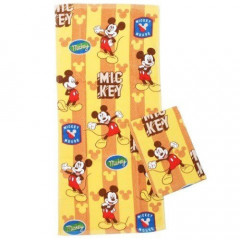 Japan Disney Fluffy Towel - Mickey Mouse 2 pcs