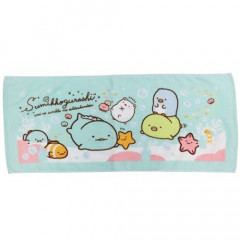 Japan Sumikko Gurashi Fluffy Towel - Sea