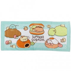 Japan Sumikko Gurashi Fluffy Towel - Bread